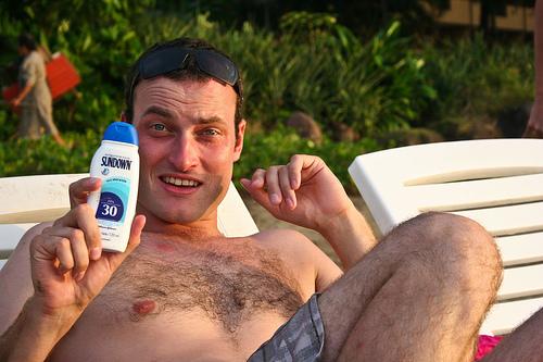 sunscreen model