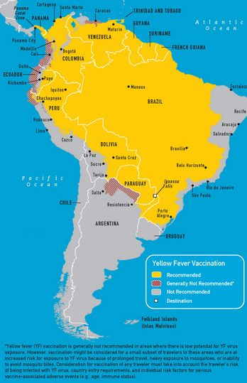 yellow-fever-south-america-map